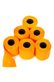 Some rolls of toilet paper Royalty Free Stock Images