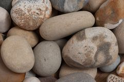 Some round and colored stones. Detailed view Stock Photo