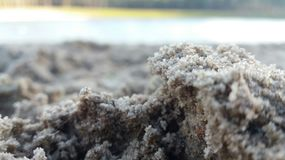 Some sand at a beach Royalty Free Stock Photo