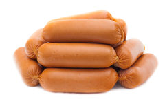Some sausages Royalty Free Stock Photo