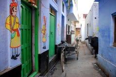 the street of varanasi