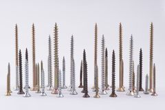 Some screws Royalty Free Stock Image