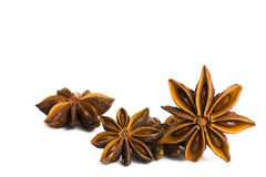 Some seasonal star anise Royalty Free Stock Photography