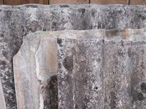 Some sheets of old slate. Old sheets of slate.  Grey slate Royalty Free Stock Photography