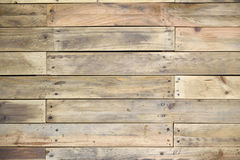 Some sheets of wood forming a background. Horizontal texture Stock Photography