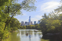 Some shot from the famous Central Park. New York City stock photo