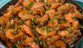 Some Shrimp Cuisine Stock Photography