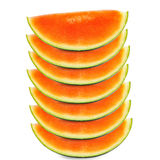 Some sliced Pieces of fresh Watermelon Stock Photography