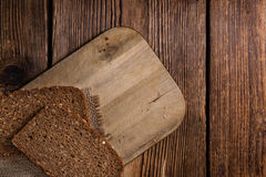Some slices of brown Bread Stock Photos