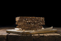 Some slices of brown Bread Royalty Free Stock Image