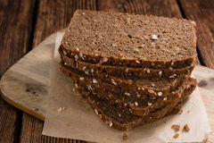 Some slices of brown Bread Royalty Free Stock Images