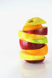 Some slices of different fresh fruits. (details Royalty Free Stock Photography