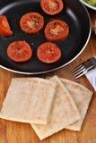 Some slices organic irish potato bread Stock Image