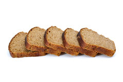 Some slices of rye bread with anise Royalty Free Stock Images
