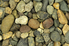 Some small river stones  background. Some small river stones abstract background Stock Image