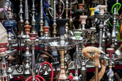 Some Smoking Objects. A lot of colorful smoking objects Stock Photos