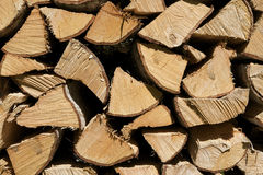 Some spilitted wood. Close-up of some splitted wood Royalty Free Stock Photos