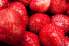 Some strawberries Stock Images