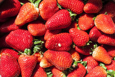 Some strawberry at street market. Image of some strawberry at street market Stock Photo