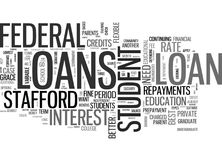 Are Some Student Loans Better Than Others Word Cloud Royalty Free Stock Photos