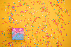 Some sweet candies spreading pastry for background. Some sweet candies spreading pastry for some background Stock Photos