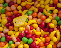 Some sweet candy at street market. Image of some sweet candy at street market Royalty Free Stock Image