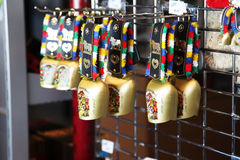Swiss cow bell Royalty Free Stock Images