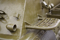 Some of the tanks. Close-up. Royalty Free Stock Photography