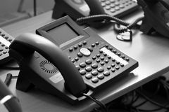 Some telephones Royalty Free Stock Images