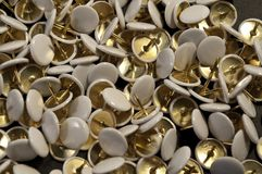 Some thumbtacks Royalty Free Stock Images