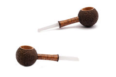 Some tobacco pipes Stock Photos