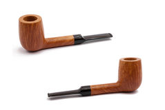 Some tobacco pipes Stock Photography