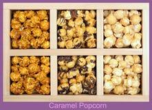 Some tones of caramel popcorn Stock Photos