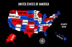 Some USA map Stock Photos