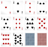 Some Vector cards Royalty Free Stock Photo