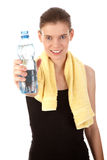 Some water after training Stock Photos