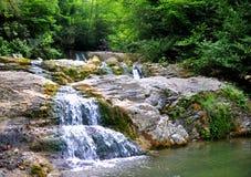 Some waterfalls Royalty Free Stock Photos