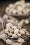Some whole Pistachios Royalty Free Stock Images