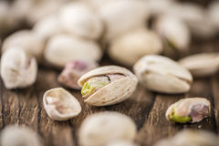 Some whole Pistachios Stock Photography
