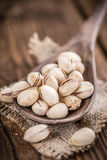 Some whole Pistachios Royalty Free Stock Image