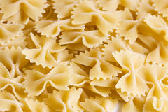 Some yellow macaroni Stock Photo