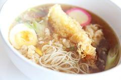 Somen, fine wheat noodles Stock Images