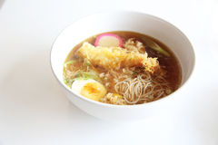 Somen, fine wheat noodles Stock Photo