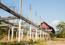 Somente estrutura restante. Imagem de Stock
