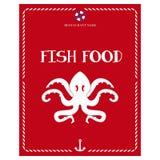 Somente menu do marisco Foto de Stock