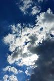 Somente nuvens Imagens de Stock