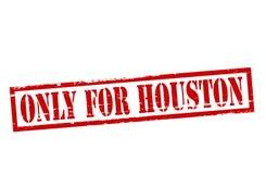 Somente para Houston ilustração royalty free