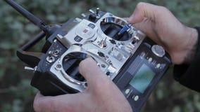 Drone Radio Control stock footage