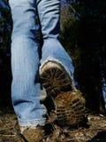 Someone standing dirty bottom Stock Photo