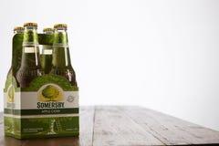 Somerby-Apfelwein Lizenzfreies Stockbild